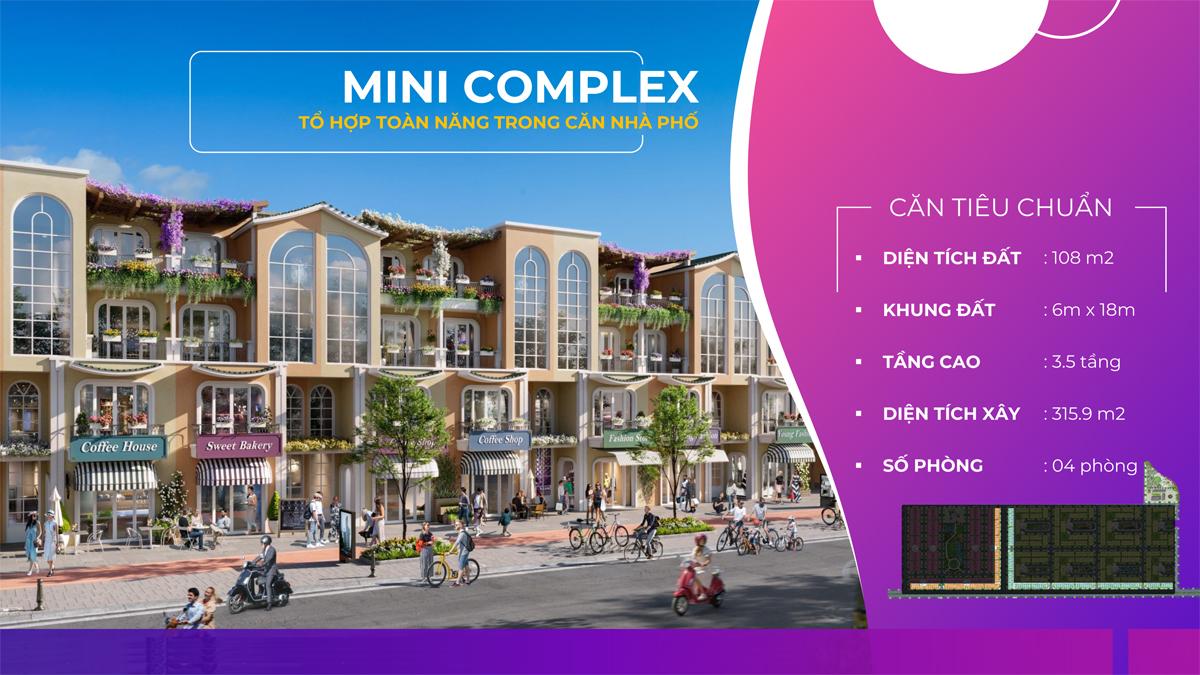 mẫu thiết kế Mini Complex tai Para Sol