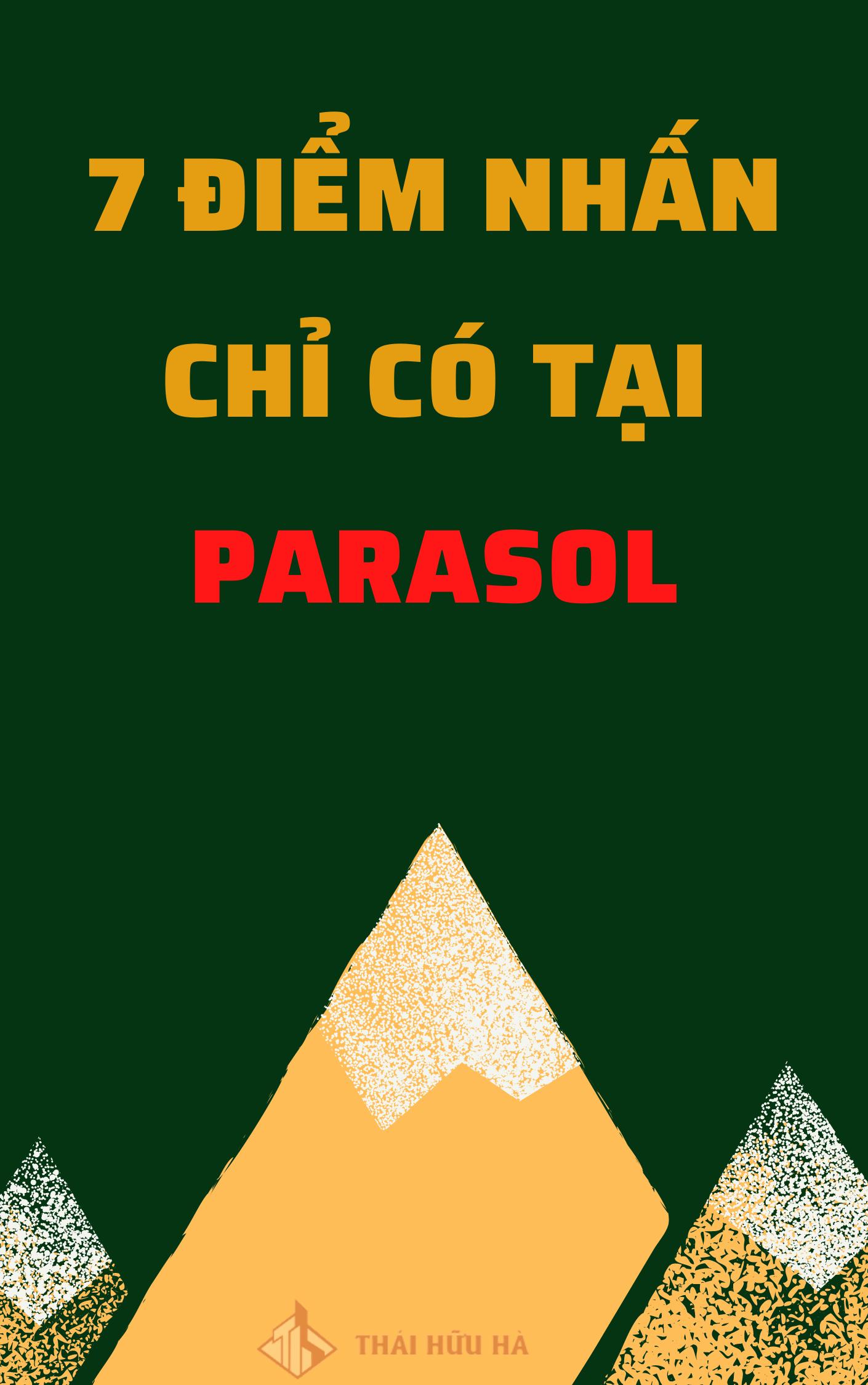 Điểm nhấn tại Parasol Cam Ranh